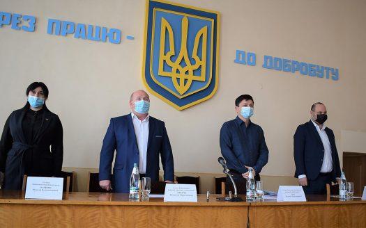 Губернатор Виталий Ким представил нового главу Баштанской райгосадминистрации