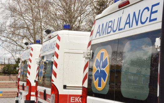Николаевская область получила шесть машин скорой помощи, ожидают еще 26