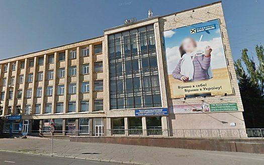 В центре Николаева на фасаде дома появится огромный мультимедийный экран для рекламы