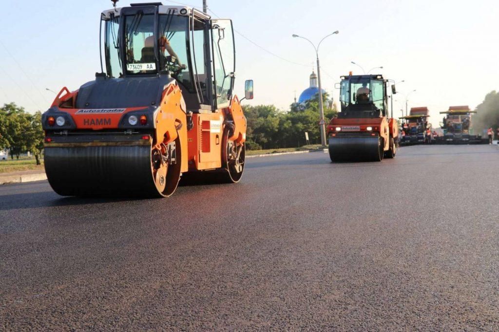13 июля в Николаеве стартует ремонт дорожного покрытия на пр. Героев Украины
